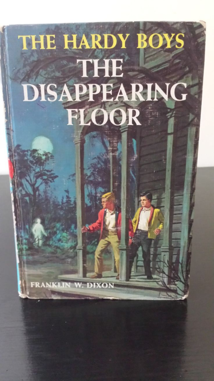 19 best books for kids images on pinterest baby books books for vintage hardy boys book the disappearing floor 1960s boys bookschildrens jeuxipadfo Images