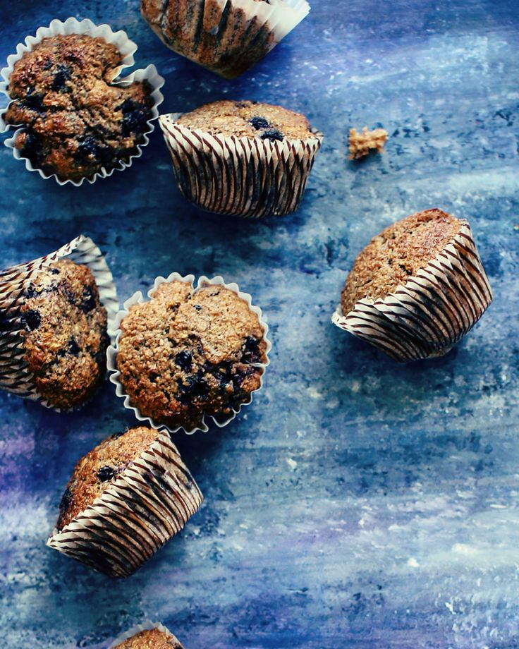 This recipe makes wonderful bran muffins - tender and moist muffins, studded with juicy blueberries. They make bran sexy.