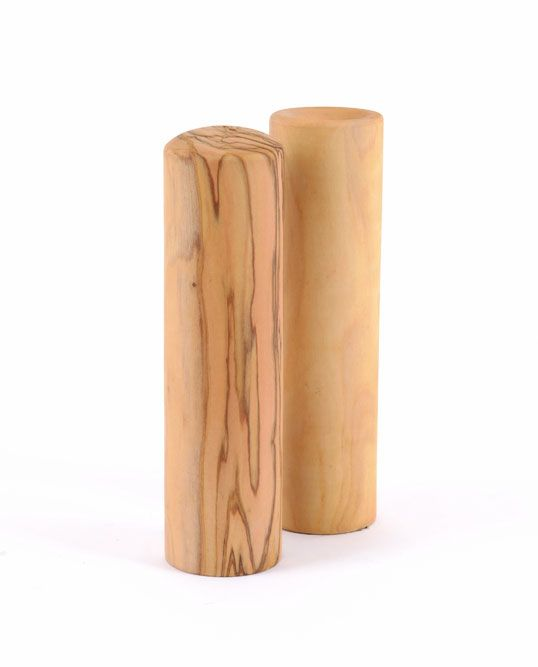 Olive tree salt & paper shaker set