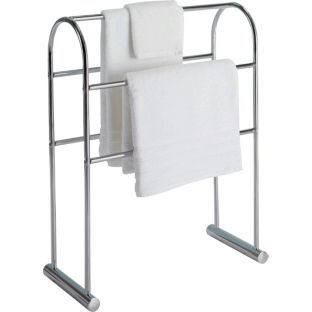 Buy Traditional Curved Towel Rail - Chrome at Argos.co.uk - Your Online Shop for Towel rails and rings.