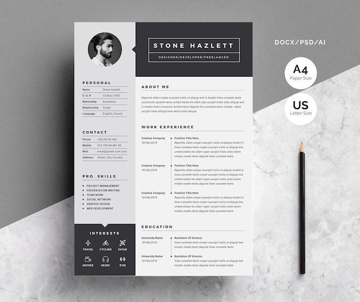 42+ Creative resume design 2020 Resume Examples