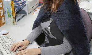 Groupon - Couverture chauffante noire USB à 8,99€ (71% de réduction). Prix Groupon : 8,99€