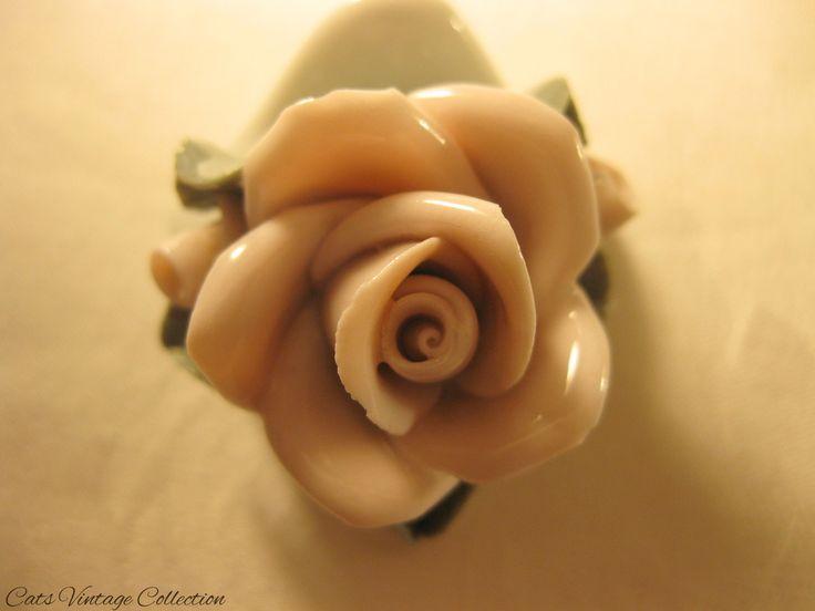 Gerold Bavaria Rose Porcelain Figurine