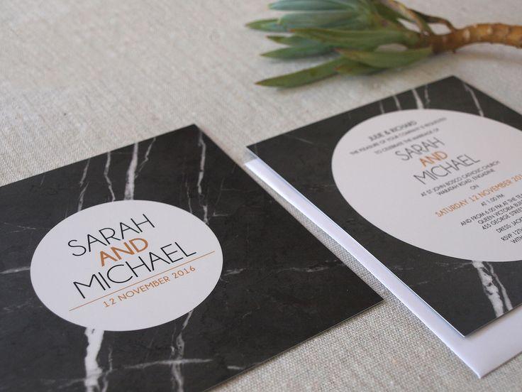 Marble wedding invitations by Alannah Rose #marble #invitations #wedding #invite #modern http://www.alannahrose.com.au/shop/category/wedding-stationery-marble-marvel #marbleinvitations #marbleweddinginvitations #invites #marble