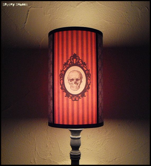 Nosferatu Lampshade lamp shade halloween decor by SpookyShades