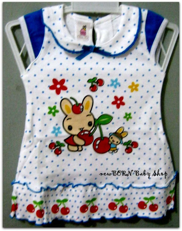 Dress baby 'Bunny Polkadot' for baby girl 0-6 month