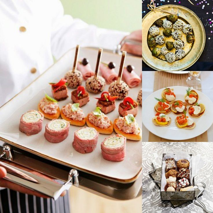 The new year's Eve is coming, let's celebrate with finger food parties!