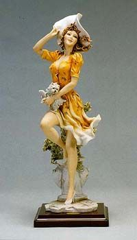 Falling Leaves by Giuseppe Armani.  #234-C from Blue Heron Collectibles