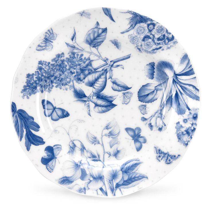 Portmeirion Botanic Blue 6 inch Side Plate set of 4