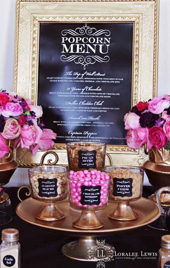 Oscars + Academy Awards Party {Planning, Ideas, Decor, Idea}