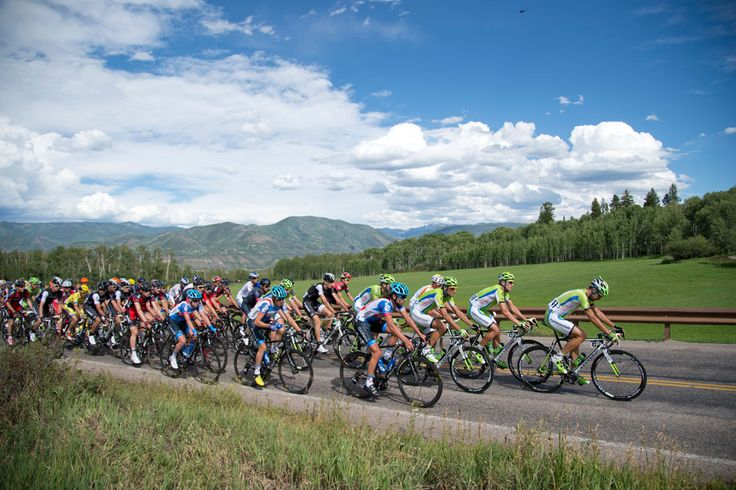 Gallery: 2014 USA Pro Challenge, stage 1 - Cannodale and Garmin led the peloton toward the KOM in Aspen Highlands. Photo: Casey B. Gibson   www.cbgphoto.com