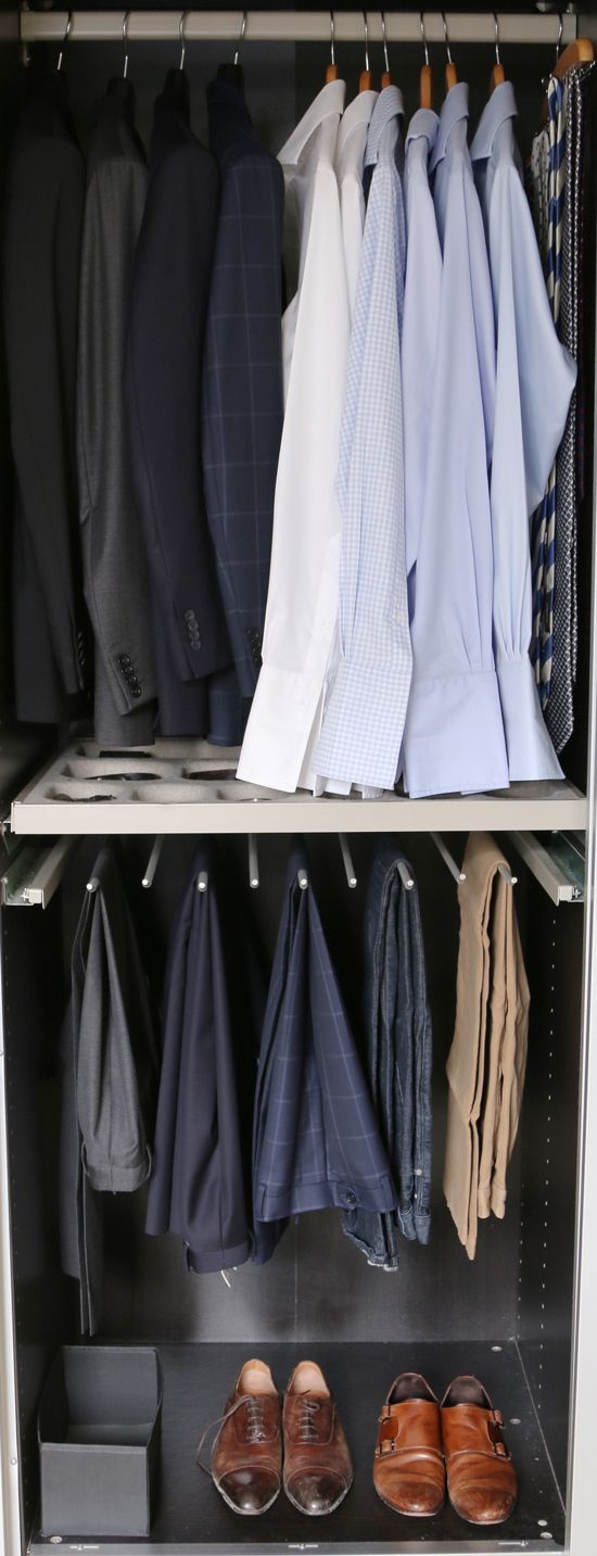 Easy way to keep track of all of your #menswear essentials!