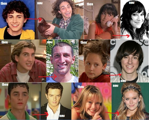 Lizzie McGuire Cast then& now