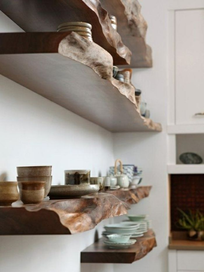 The 7 best images about Haus on Pinterest Floating shelves - k chenregal selber bauen