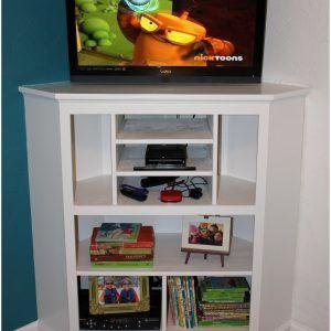 Tall White Corner Tv Cabinet