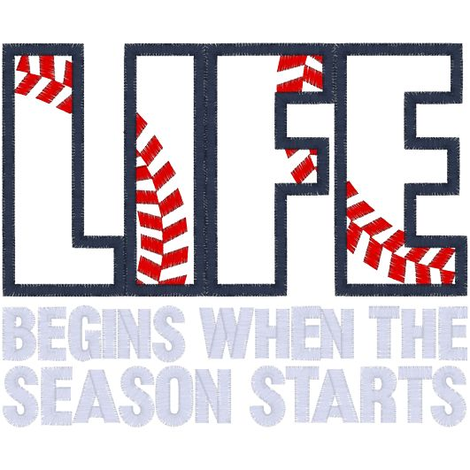 More like life gets crazy when the season starts, but I wouldn't change mine for the world.