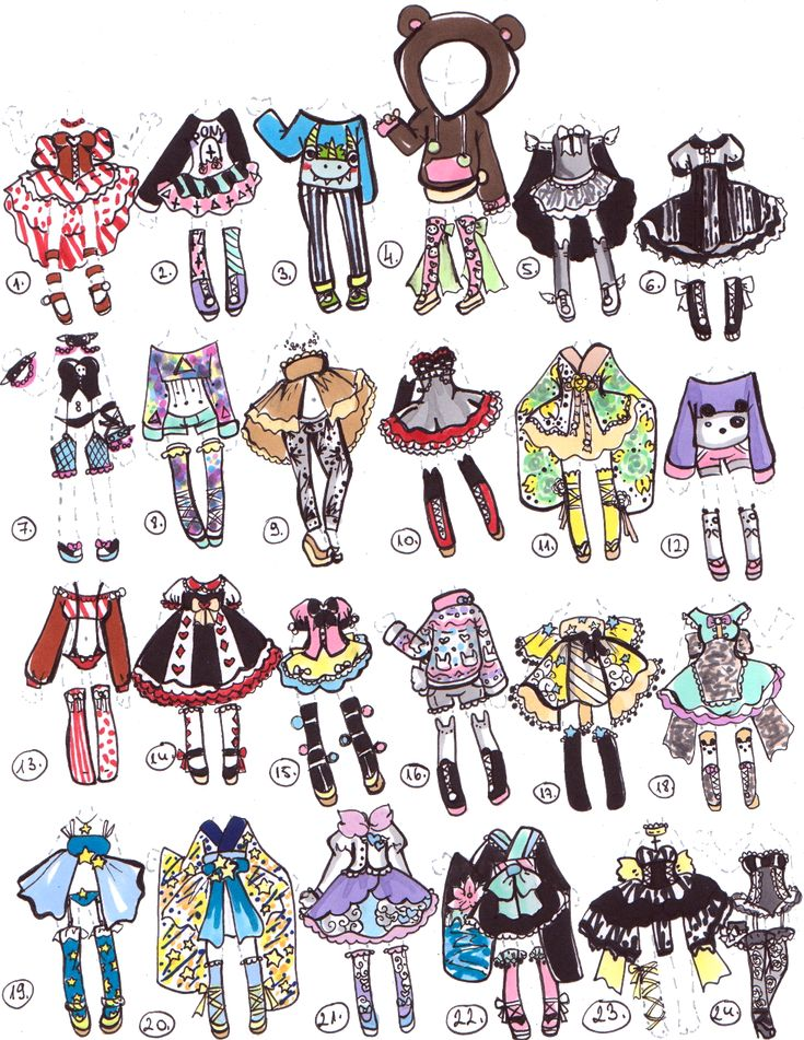 CLOSED-Adoptable outfits by Guppie-Adopts.deviantart.com on @DeviantArt