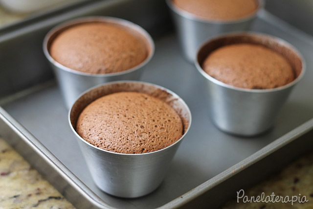PANELATERAPIA - Blog de Culinária, Gastronomia e Receitas: Petit Gateau Fácil