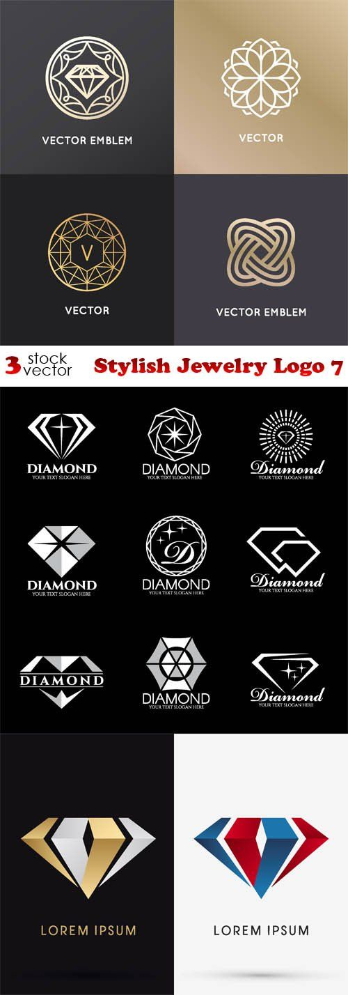 Vectors - Stylish Jewelry Logo 7