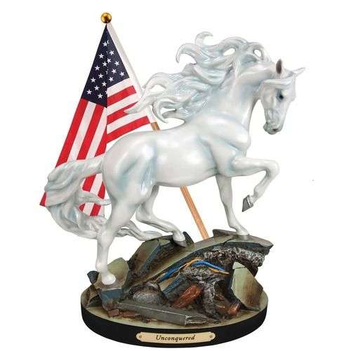 Trail of Painted Ponies Horse Figurine - Unconquered
