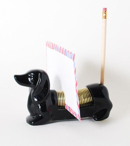 Cute Dachshund Letter Organizer | Unique Modern Stationery Supplies | HOTTT.COM