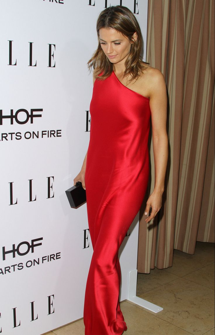 wearing Naeem Khan at the Elle Women in TV Event in Los Angeles