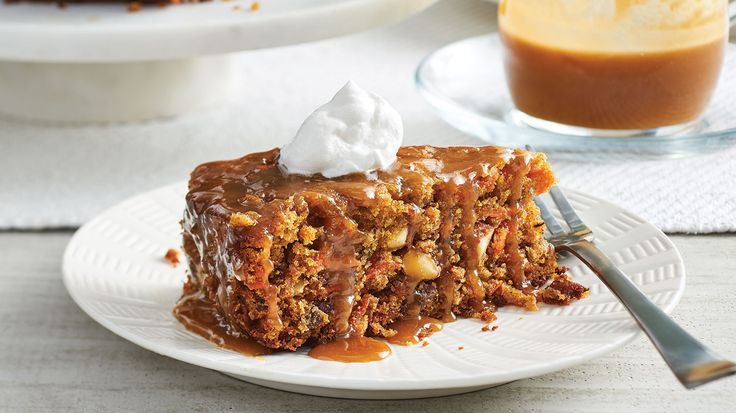 Festive Slow Cooker Carrot Pudding