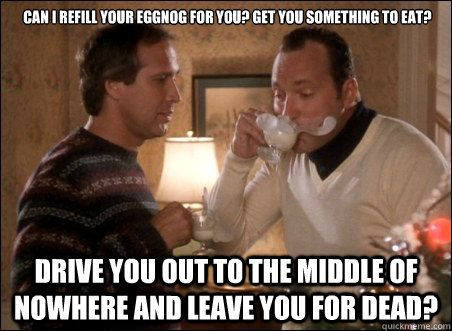 Christmas Vacation, Clark and Cousin Eddie