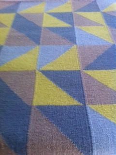 my favourite colour combination at the moment......designer collection rug from Armadillo-co.com