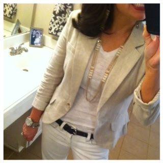 Pinterest Told Me To: neutral blazer