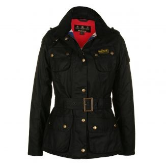 """Barbour jacket- """"womens international"""". For those rainy autumn days on the countryside. And for my spare time in the city too."""