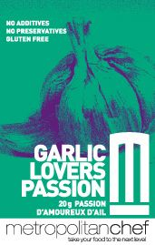 Garlic lover? If so, you'll find Garlic Lovers Passion simply divine! Use wherever you would use lots of garlic. A must for sauteing mushrooms and prawns. Mix with butter and and add a dollop to you mashed or baked potatoes for a simply mouthwatering dish! Excellent in caesar salad dressings as well.