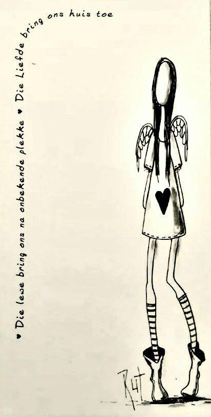 Die lewe x die liefde... #Afrikaans ©Rut[rutcreations.com][Rut Art/FB] #LifeQuotes L♡VE #HomeSweetHome