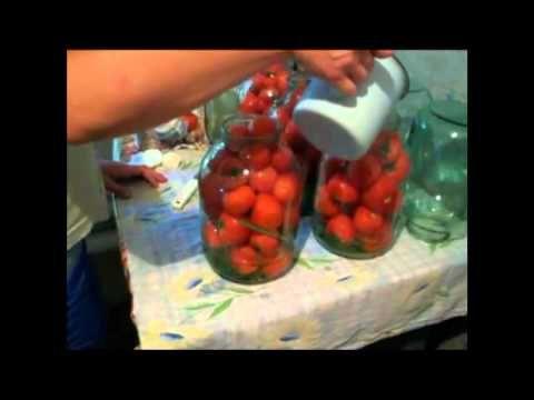 Консервированные огурцы без стерилизации, рецепт - YouTube