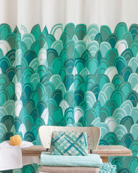 Emerald City Shower Curtain | Home Is Where The Love Is | Pinterest ...
