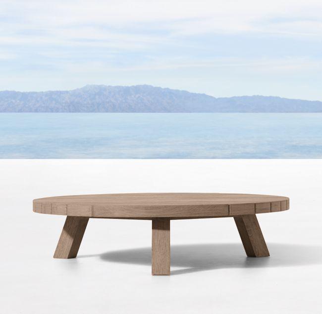 Merida Round Coffee Table Round Coffee Table Teak Table Outdoor Teak Coffee Table