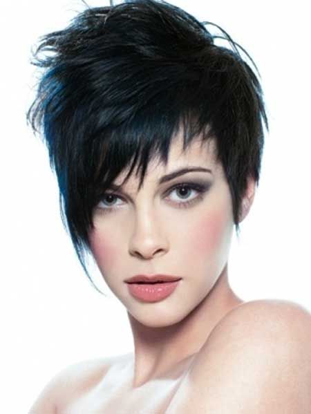 2013 Short Cuts for Thick Hair-4  (Notice this link for thick hair like yours. Also, cool asymmetrical bangs.)