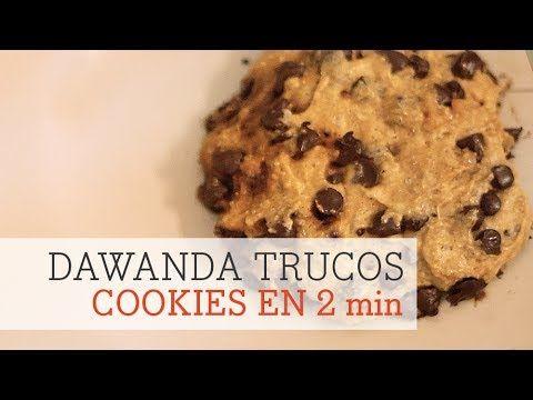 Cómo hacer cookies en el microondas en 2 minutos
