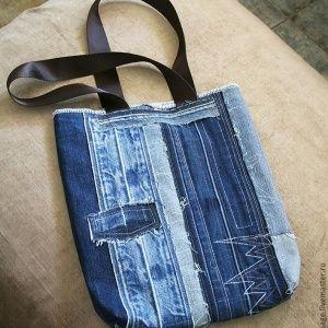 Сумка из джинсовых поясо…