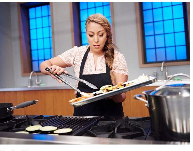 Michelle Karam AKA The Mediterranean Mama on Season 11 of Food Network Star