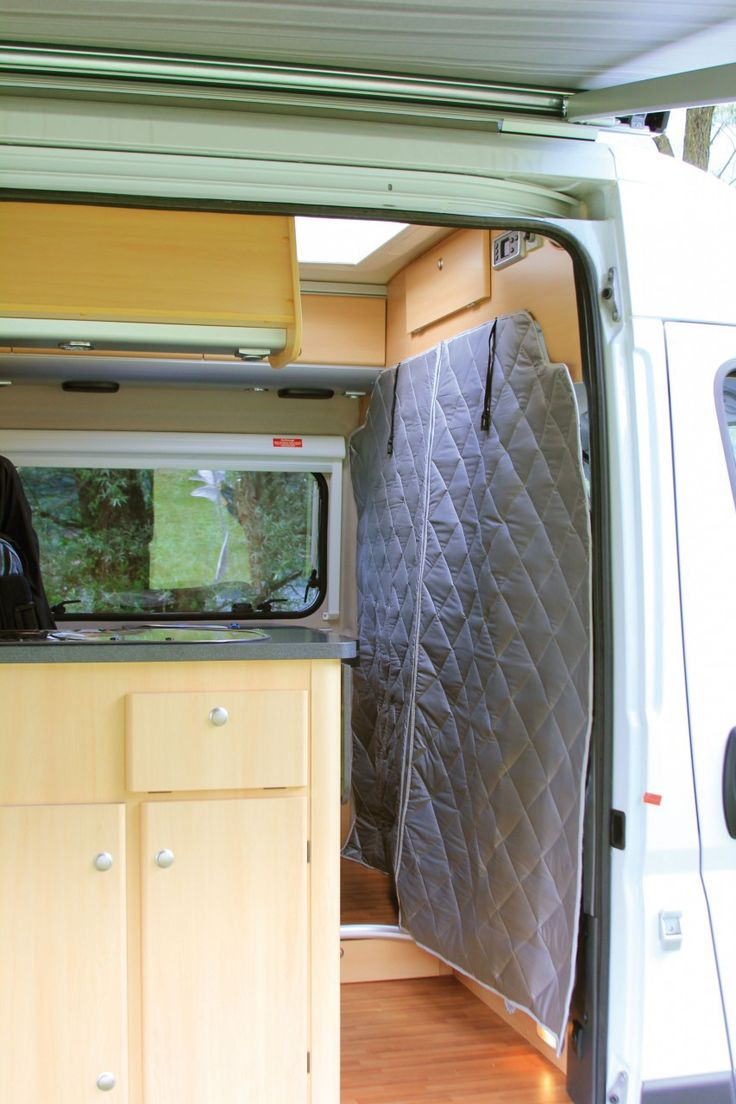 Fiamma thermal wall panel for ducato cabin comfortable and useful thermal panel to put between the cabin and the motorhome of