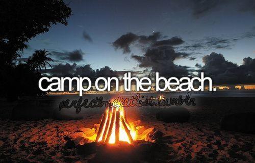 Camp on the Beach