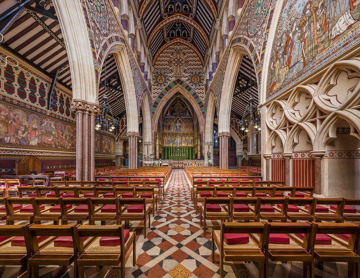 All Saints Margaret Street Interior 1, London, UK - Diliff - All Saints, Margaret Street - Wikipedia, the free encyclopedia