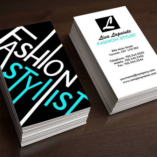 stylist business cards