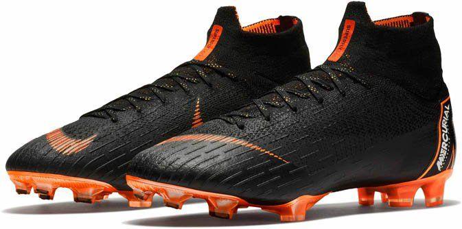 Nike Superfly 6 Elite Fg Black Total Orange Soccerpro Soccer Cleats Superfly Superfly Soccer Cleats