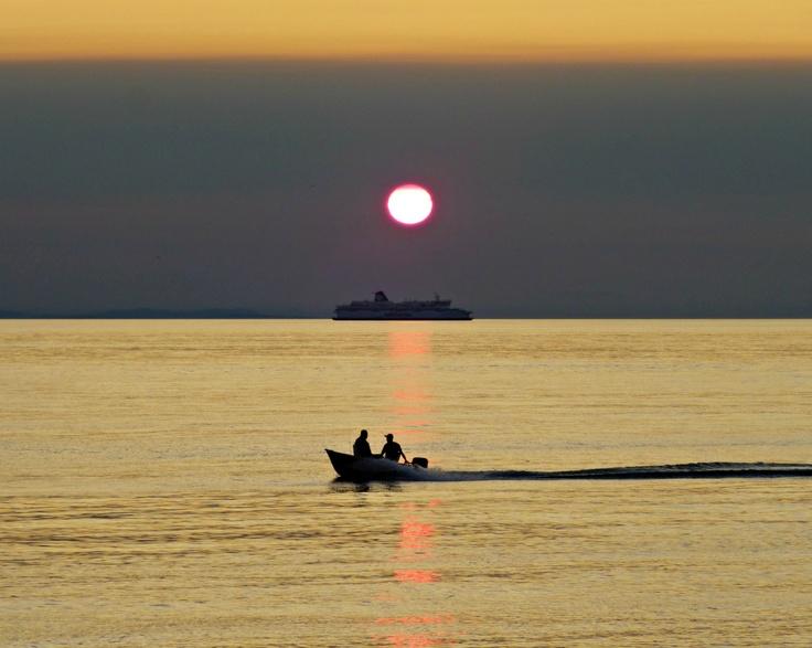 Fabulous Point Roberts sunset tonight!