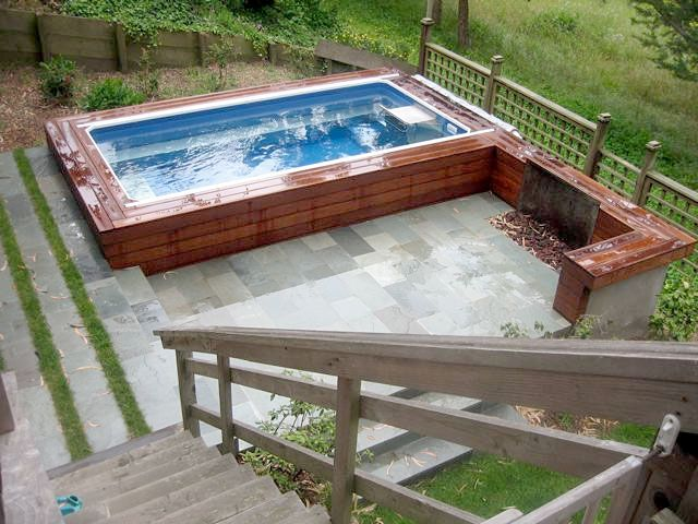 17 Best Images About Above Ground Pools On Pinterest Endless Pools Concrete Walls And Above