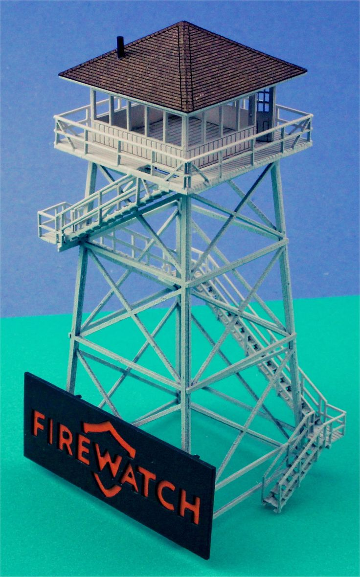 Lookout tower from Firewatch Game 1/220 scale