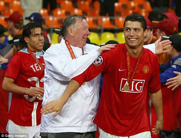 Mentor: Ferguson (astro snake of course: 31 Dec 1941) nurtured Cristiano Ronaldo's abundant talent during his five years at Old Trafford http://de.wikipedia.org/wiki/Alex_Ferguson