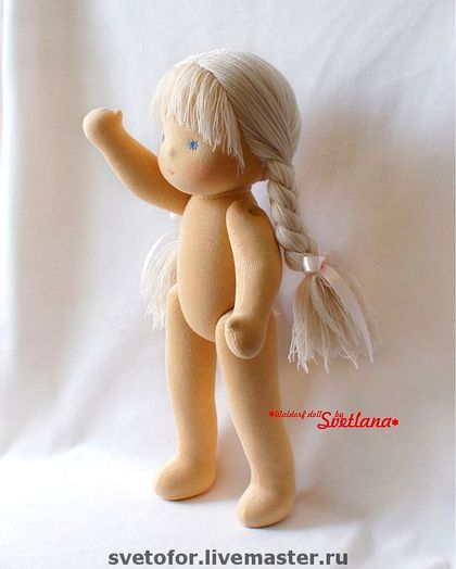 Waldorf handmade toy. Fair Masters - handmade hinge Golyshko. Handmade. The most perfect body and proportions I've seen.